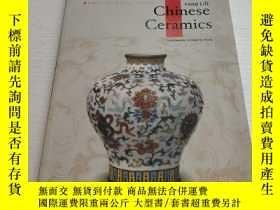 二手書博民逛書店CHINESE罕見CERAMICS 【中國陶瓷】Y11134 F