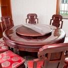 100cm圓桌布圓桌酒店PVC防水防燙防油免洗透明桌墊圓形餐桌台布