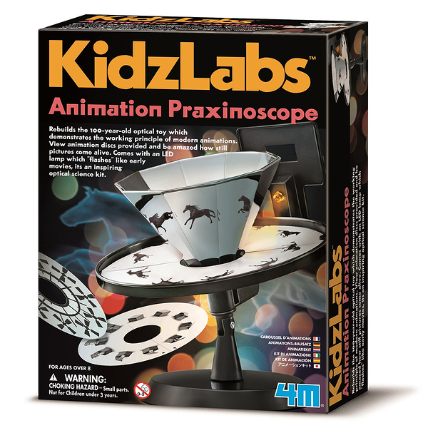 《4M科學探索》Animation Praxinoscope 動畫世界╭★ JOYBUS玩具百貨