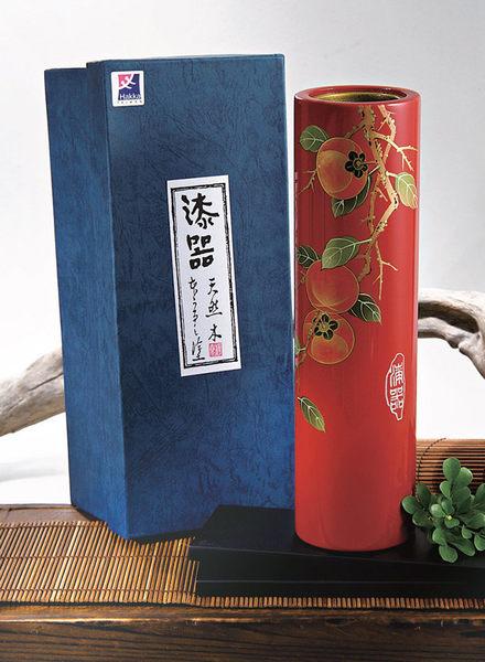 【樺泰實業】柿子直筒花瓶_E0492