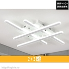 INPHIC-幾何後現代餐廳北歐led吸頂燈具臥室簡約客廳LED燈藝術-2 2燈_heas
