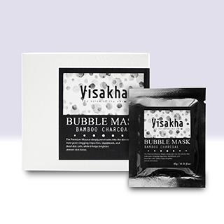 【Visakha】函氧瞬白黑竹炭泡泡面膜 10g/包 x 15