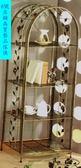 8號店鋪 森寶藝品傢俱 c-36 品味生活   客廳  置物架系列 MK070B  鍛鐵大四層置物架