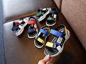 兒童涼鞋沙灘鞋超輕防滑軟底男童女童涼鞋/中大童26-36