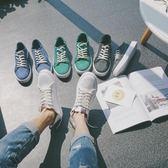 春夏男士帆布鞋運動鞋子正韓潮流低筒男鞋學生百搭潮