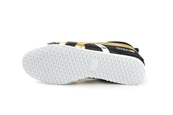 Onitsuka Tiger MEXICO 66 運動鞋 休閒鞋 皮質 時尚 舒適 黑色 男女鞋 D5V2L-9094 no220