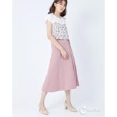 CANTWO純色側腰綁帶長裙-二色~春夏新品單一特價