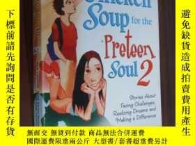 二手書博民逛書店原版正品罕見Chicken Soup for the Prete