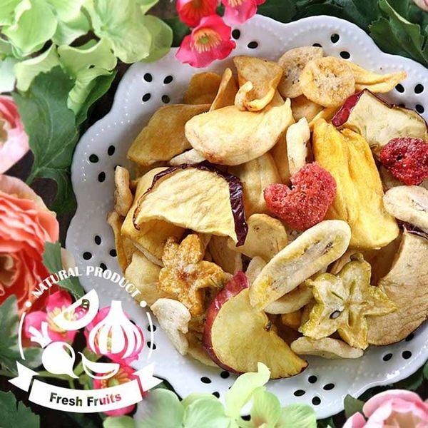 【愛上新鮮】綜合水果脆片8包