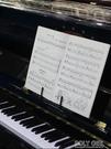 Brillant便攜式摺疊桌面樂譜架子古琴樂譜架支架曲譜架IPAD平板架  ATF  夏季狂歡