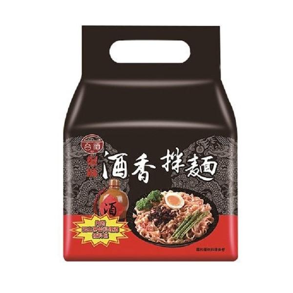 【台酒TTL】台酒酒香拌袋麵-椒麻 袋裝(4包/袋)