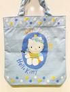 【震撼精品百貨】Hello Kitty 凱蒂貓~日本三麗鷗 kitty 造型手提袋/側背袋-藍小馬#41975