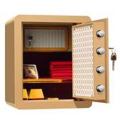保險櫃家用小型迷你超小入牆隱形床頭機械密碼防盜保險箱  igo 遇見生活