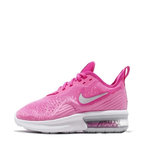 NIKE系列-WMNS NIKE AIR MAX SEQUENT 4 女款 氣墊 粉紅色 休閒鞋-NO.AO4486601