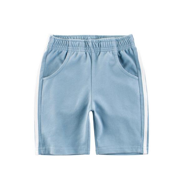 美式休閒彈性加大好穿男童五分褲夏季短褲棉褲 88134