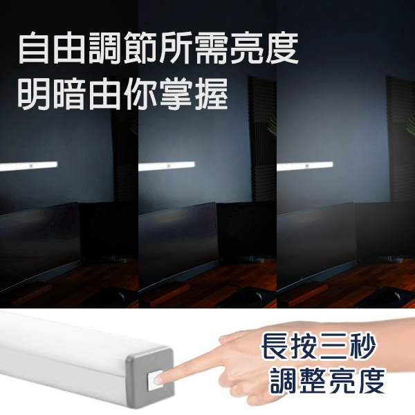 【coni shop】BLADE多功能鋁合金感應燈 29.7cm 現貨 當天出貨 冷光系 台灣公司貨 磁吸燈條 充電式燈管