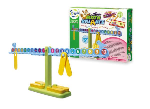 【限宅配】數學天秤/算術天平(激發孩童學習興趣) #1603  智高積木 GIGO 科學玩具 (購潮8)