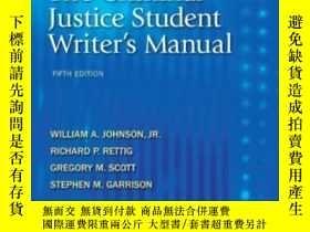 二手書博民逛書店The罕見Criminal Justice Student Wr