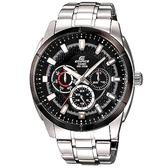CASIO EDIFICE 極限俐落時尚運動錶-EF-327D-1A1VUDF