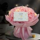 玫瑰香皂花花束生日禮物