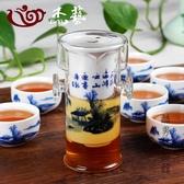泡茶壺 紅茶茶具套裝 玻璃陶瓷過濾雙耳泡茶器功夫茶壺花茶沖茶器CY 酷男精品館
