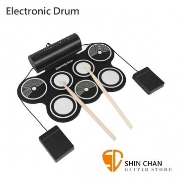 【缺貨】【手捲電子鼓】 Electronic Drum MD759 電子爵士鼓【MD-759】【附原廠變壓器 附多項配件】