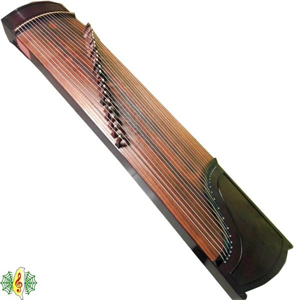 古箏 [網音樂城] 大音希聲 張長合 紫檀 實木 精品 素面 演奏級 手工箏 Guzheng