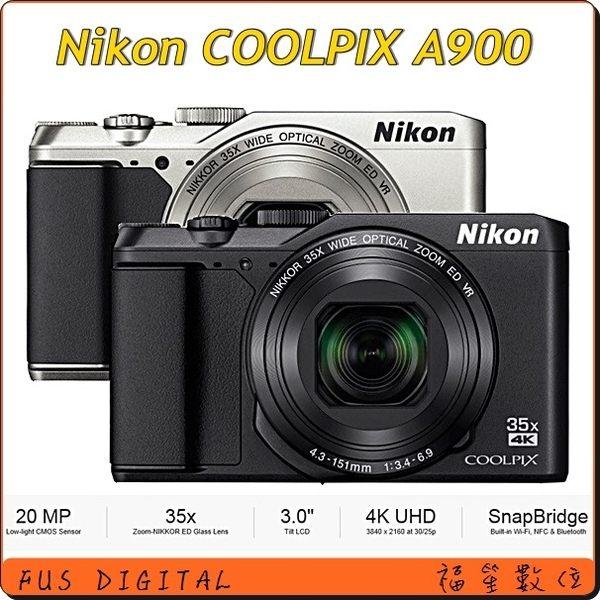 登錄送原廠電池【福笙】NIKON COOLPIX A900 (國祥公司貨) 送保護貼