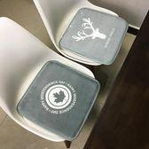 每週新品北歐卡通楓葉坐墊 辦公室椅墊沙發吊椅墊電競轉椅子凳子汽車坐墊