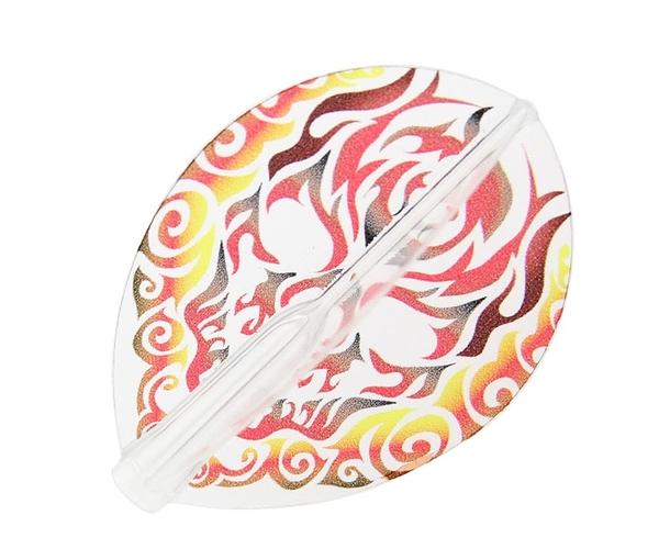 【Fit Flight AIR x CrossDesign】鬼火 赤-Onibi Aka- Teardrop 鏢翼 DARTS