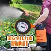 噴霧器園藝澆花噴壺澆花澆水氣壓式噴霧器農用手動小噴水壺灑水壺洗車春季特惠
