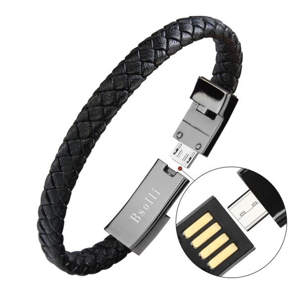 現貨 創意爆款數據線適用于OPPO蘋果小米華爲type-c手鏈手環數據線禮品