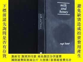 二手書博民逛書店milk罕見and honey 英文原版,精装本,插图丰富,Y163994
