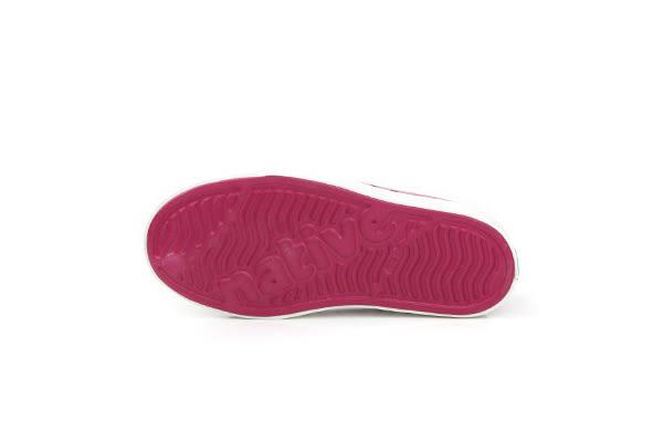 native JEFFERSON 珠光 懶人鞋 洞洞鞋 防水 雨天 童鞋 桃紅色 小童 13100104-8309 no549