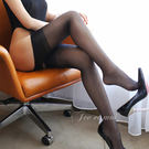 (加購)透明長筒襪性感制服誘惑吊帶絲襪-黑