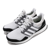 adidas 慢跑鞋 UltraBOOST S L 灰 白 黑 避震中底 男鞋 運動鞋 【PUMP306】 EF0722