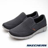 SKECHERS 男鞋 時尚休閒系列 Equalizer 腳套- 灰51509CCOR
