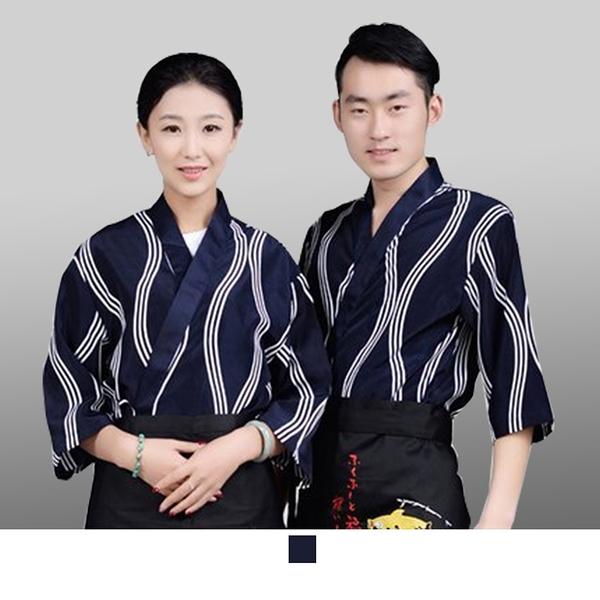 晶輝專業團體制服*CH116*日式溫泉飯店女竹子印花日本料理廚師服餐廳服務員工作服壽司