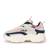 Fila Scorpion [5-J313V-113] 女鞋 運動 休閒鞋 復古 厚底 老爹鞋 米粉