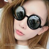 《Caroline》韓系質感熱門款網紅潮流圓框太陽眼鏡71759