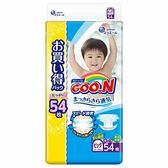 (全)【GOO.N】日本境內大王增量特規版尿布/紙尿褲(黏貼型)XL54片x3包/箱[衛立兒生活館]