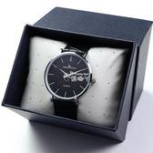 超薄男士手錶皮帶男學生韓版簡約時尚潮流男錶防水石英錶腕錶 俏腳丫