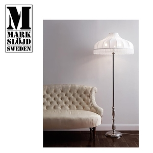 【Markslojd】AUNTIE 立燈 Floor lamp白色復古流蘇