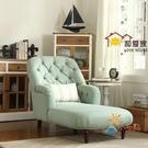 貴妃椅美式布藝貴妃椅客廳轉角貴妃榻美人靠...