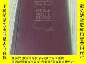 二手書博民逛書店THE罕見YEAR BOOK OF THE EYE,EAR,NOSE AND THROAT(1955-1956 S