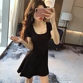 心機小黑裙赫本夜店女裝性感洋裝女夜總會氣質顯瘦夜場裙子夏季