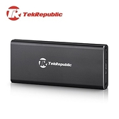 TekRepublic TUE-320 USB 3.0 轉M2, mSATA 2和1鋁合金外接盒