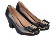 粗跟高跟鞋-新款知性經典款女靴子2色nws15【巴黎精品】