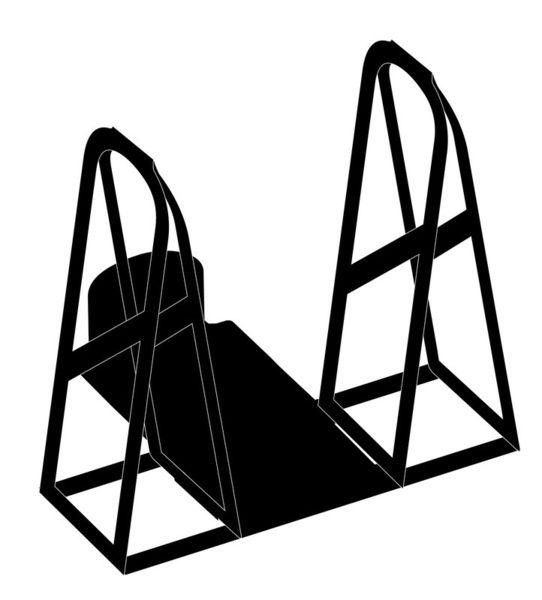 [中壢安信] HU+CK 浩克手工傢俬 安全帽架 【手套風乾架配件】收納架 掛架 架子 帽架 防霉 防臭