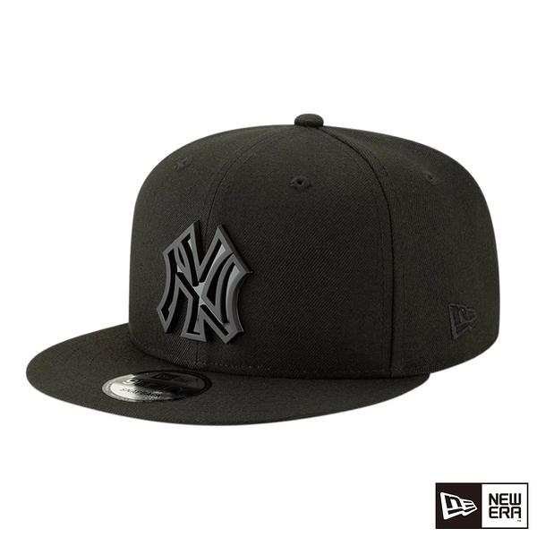 NEW ERA 9FIFTY 950 METAL STACK 洋基 黑/黑 棒球帽